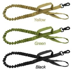 Retractable Nylon Rope Dog Leash Tactical K9 for Large Dog Heavy Duty Coupler US $10.32