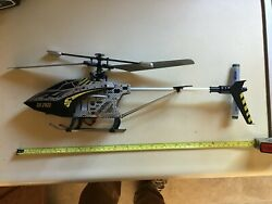 rc helicopter Fast Lane metal box w tag 2013 FLYS $80.00