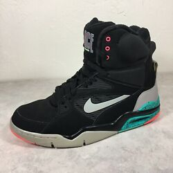 Nike Men's Air Command Force Spurs Black Ultra High top Basketball Shoes US 10 $279.99