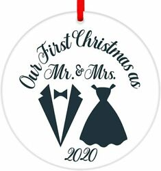 Christmas Ornament 2021 3quot; Our First Christmas As Mr amp; MrsNewly Just Married P $9.88