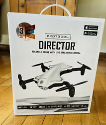 Protocol 6182 7RCHA WAL Director Foldable Drone with Live Streaming HD Camera $19.99