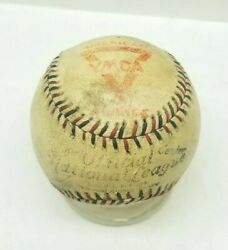 1917 19 Spalding Official League YMCA WWI WW1 Military FRANCE AMERICA Baseball $449.99