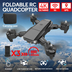 5G 4K HD Foldable WiFi Drone GPS Professional FPV Selfie RC Drone Quadcopter US $86.44