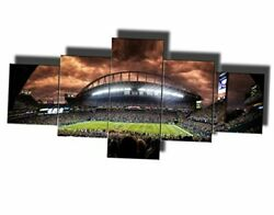 Framed Wall Art for Living Room Football Fan Pictures 50#x27;#x27;Wx24#x27;#x27;H Artwork 03 $82.32