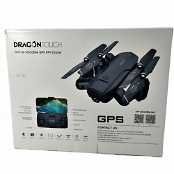 Dragon Touch 1080P Foldable GPS Drone FPV Follow Camera Drone HD Complete Ready $66.63