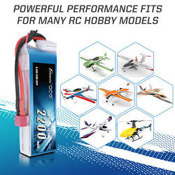 2200mAh 3S 11.1V 25C 50C Lipo RC Battery Pack Deans Plug For Helicopter Airplane $22.99