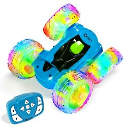 Contixo SC3 RC Cars Stunt Car 4WD 2.4Ghz Double Sided 360° Rotating RC Kids gift $33.99
