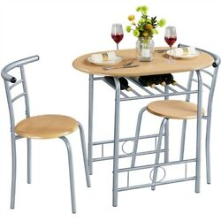 Dining Room Table Sets 3 Piece Kitchen Table amp; Chair Sets Space Saving Design $76.99