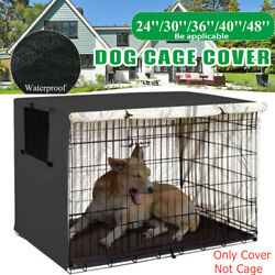 48quot; Extra Large Giant Breed Dog Crate Kennel XL Pet Wire Cage Huge Folding Cover $29.99