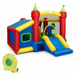 Kids Gift Inflatable Bounce House with 480W Blower $413.19