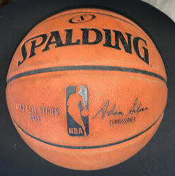 Spalding NBA Official Game Ball Leather Men's Basketball 28.5 $40.00