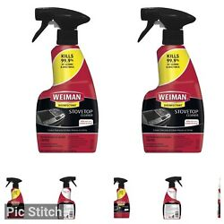 Weiman Ceramic and Glass Cooktop Cleaner 12 Ounce 2 Pack Daily Use Home and $12.99
