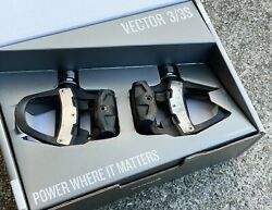 Garmin Vector 3 Dual Sided Power Meter Cycling Pedals Bluetooth ANT w cleats $579.00