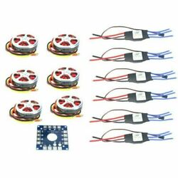 F05423 A 350KV Disk Motor With Mount40A ESC For 3 6s Hexacopter Multi Rotor $163.99