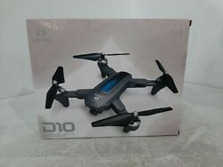 DEERC D10 Foldable Drone with Camera for Adults 720P HD FPV Live Video. $75.00