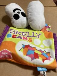 Bark Box RePlay Pack Skelly Beans Squeak Plush M L Dog Toy $12.00