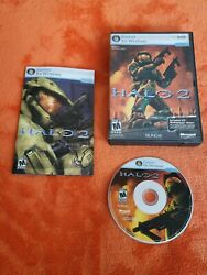 HALO 2 2007 MICROSOFT GAME STUDIOS FIRST PERSON SHOOTER DVD ROM PC GAME $9.99