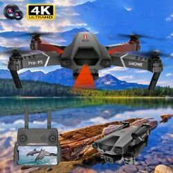 P5 drone 4K dual camera professional aerial photography infrared quadcopter RC. $99.99