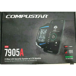 Compustar CSX7905A All in One 2 Way LCD Security System w Drone X1 LTE Module $174.99