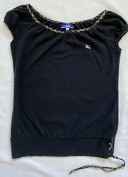 Burberry London Blue Label Vintage Top Size 38 Small $25.99