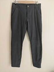 Kuhl Resistor Chino Pant Tapered Fit Tech Hiking Carbon Grey 32 W 32 L $35.00