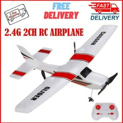 RC Plane RTF Glider Z53 2.4G Airplane With Gyro For Kids Beginner Ready To Fly $39.07