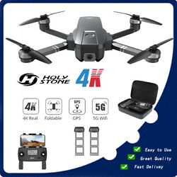 Holy Stone HS720 4K GPS RC Drone with HD Camera Brushless Quadcopter 2 Battery $239.00