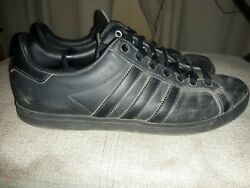 Mens Adidas Shoes Size 11 All Black $12.99