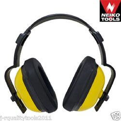 OVER HEAD OVERHEAD PADDED HEARING SAFETY EAR MUFF PROTECTORS SHOOTING POWER TOOL