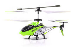 Syma S107 S107G 3 Channel RC Radio Remote Control Helicopter with Gyro Green $25.99