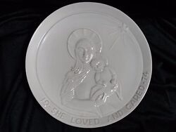 FRANKOMA POTTERY - 1974 - SHE LOVED AND CARED