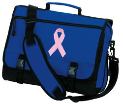 Pink Ribbon Breast Cancer Support amp; Awareness Messenger Bag BAGS UNIQUE GIFT $31.99