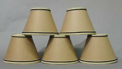Kraft Paper Chandelier Shades Set of 5 $29.95