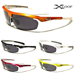 Mens and Womens Sports Shield Outdoor Active Athletic Sunglasses XL580 $7.95