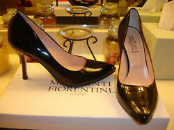 Mercanti Florentini J7020 Patent Leather Heel 7 $350 Sexy Wedding Prom Holiday