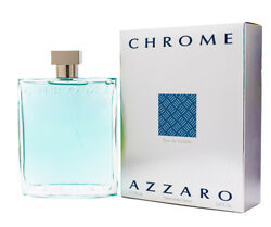 Chrome by Azzaro 6.7  6.8 oz EDT Cologne for Men New In Box $37.12