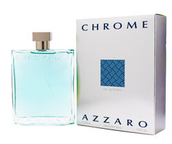 Chrome by Azzaro 6.7 6.8 oz EDT Cologne for Men New In Box $38.69