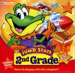 JumpStart 2nd Grade for PC Mac Social Science Geography Jump Start Second $9.49