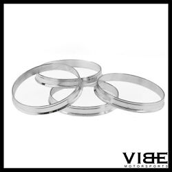 72.56 TO 57 ALUMINUM HUB CENTRIC WHEEL CENTERING RINGS  72.6 TO 57.1mm