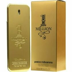 1 One Million by Paco Rabanne 3.3 3.4 oz Cologne for Men New In Box $56.26