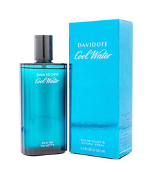 Cool Water by Davidoff 4.2 oz EDT Cologne for Men New In Box $18.30