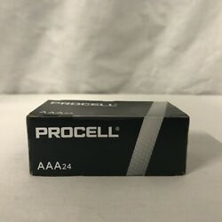 24 New AAA Procell Alkaline Batteries by Duracell PC2400 EXP 2026 or Later $11.19