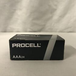 24 New AAA Procell Alkaline Batteries by Duracell PC2400 EXP 2026 $10.59