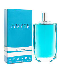 Chrome Legend by Azzaro Cologne for Men 4.2 oz New In Box $25.92