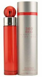 360 RED for Men by Perry Ellis Cologne 3.4 oz New in Box $20.30