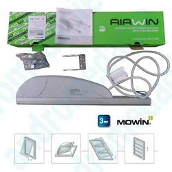 AIRWIN 650N 230V STROKE=350MM Rack for Shed Top-Hung Windows Skylights Domes