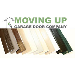 Double Car Garage Door Stop Sides and Top 2 Inch Weather Seal Any Size All Color $50.70