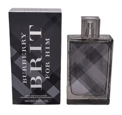 Burberry Brit by Burberry EDT Cologne for Men 3.3  3.4 oz Brand New In Box $26.76