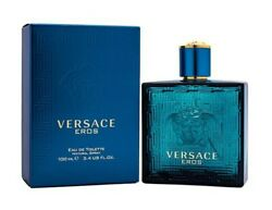 Versace Eros by Gianni Versace 3.4 oz EDT Cologne for Men New In Box $51.36