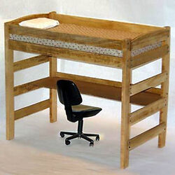 Twin Loft  Bunk Bed Woodworking Furniture Plans Save Money Do It Yourself